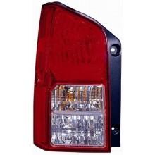 2005 -  2012 Nissan Pathfinder Rear Tail Light Assembly Replacement / Lens / Cover - Left <u><i>Driver</i></u> Side