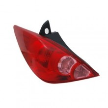 2007 - 2012 Nissan Versa Rear Tail Light Assembly Replacement / Lens / Cover - Left <u><i>Driver</i></u> Side - (Hatchback)