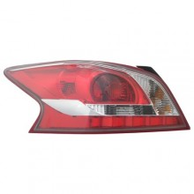 2013 - 2013 Nissan Altima Rear Tail Light Assembly Replacement / Lens / Cover - Left <u><i>Driver</i></u> Side - (Sedan)