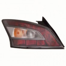 2012 -  2014 Nissan Maxima Rear Tail Light Assembly Replacement / Lens / Cover - Left <u><i>Driver</i></u> Side