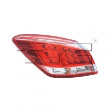 2012 - 2014 Nissan Murano Rear Tail Light Assembly Replacement / Lens / Cover - Left <u><i>Driver</i></u> Side
