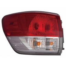 2013 - 2016 Nissan Pathfinder Rear Tail Light Assembly Replacement / Lens / Cover - Left <u><i>Driver</i></u> Side Outer