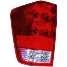 2004 - 2015 Nissan Titan Rear Tail Light Assembly Replacement Housing / Lens / Cover - Left <u><i>Driver</i></u> Side