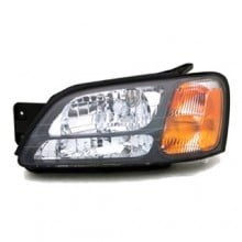 2000 - 2006 Subaru Outback Front Headlight Assembly Replacement Housing / Lens / Cover - Left <u><i>Driver</i></u> Side