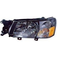2003 - 2004 Subaru Forester Front Headlight Assembly Replacement Housing / Lens / Cover - Left <u><i>Driver</i></u> Side