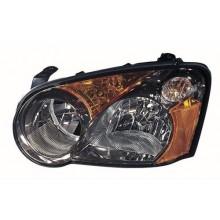 2005 Subaru Impreza Front Headlight Assembly Replacement Housing / Lens / Cover - Left <u><i>Driver</i></u> Side