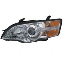 2006 - 2007 Subaru Legacy Front Headlight Assembly Replacement Housing / Lens / Cover - Left <u><i>Driver</i></u> Side