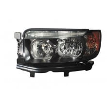2007 - 2008 Subaru Forester Front Headlight Assembly Replacement Housing / Lens / Cover - Left <u><i>Driver</i></u> Side - (Sports 2.5 X + Sports 2.5 XT)