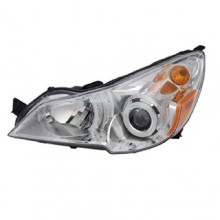 2010 - 2012 Subaru Legacy Front Headlight Assembly Replacement Housing / Lens / Cover - Left <u><i>Driver</i></u> Side