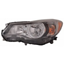 2012 -  2013 Subaru Impreza Front Headlight Assembly Replacement Housing / Lens / Cover - Left <u><i>Driver</i></u> Side - (Sedan + Wagon)