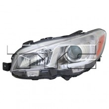 2015 - 2020 Subaru WRX Front Headlight Assembly Replacement Housing / Lens / Cover - Left <u><i>Driver</i></u> Side