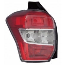 2014 - 2016 Subaru Forester Rear Tail Light Assembly Replacement Housing / Lens / Cover - Left <u><i>Driver</i></u> Side
