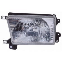 1999 - 2002 Toyota 4Runner Front Headlight Assembly Replacement Housing / Lens / Cover - Left <u><i>Driver</i></u> Side
