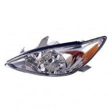 2002 -  2004 Toyota Camry Front Headlight Assembly Replacement Housing / Lens / Cover - Left <u><i>Driver</i></u> Side - (LE + XLE)