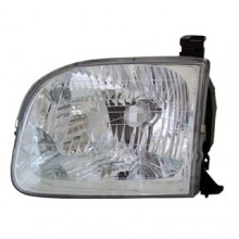 2001 - 2004 Toyota Sequoia Front Headlight Assembly Replacement Housing / Lens / Cover - Left <u><i>Driver</i></u> Side