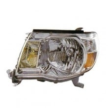 2005 -  2011 Toyota Tacoma Front Headlight Assembly Replacement Housing / Lens / Cover - Left <u><i>Driver</i></u> Side