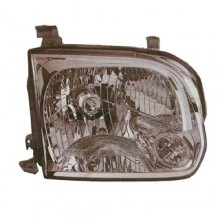 2005 - 2007 Toyota Tundra Front Headlight Assembly Replacement Housing / Lens / Cover - Left <u><i>Driver</i></u> Side - (Crew Cab Pickup)