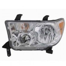 2007 - 2017 Toyota Sequoia Front Headlight Assembly Replacement Housing / Lens / Cover - Left <u><i>Driver</i></u> Side