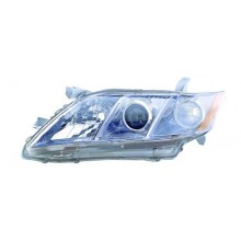 2007 - 2009 Toyota Camry Front Headlight Assembly Replacement Housing / Lens / Cover - Left <u><i>Driver</i></u> Side - (Gas Hybrid)