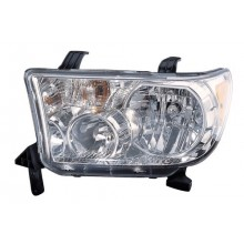 2009 - 2013 Toyota Tundra Front Headlight Assembly Replacement Housing / Lens / Cover - Left <u><i>Driver</i></u> Side