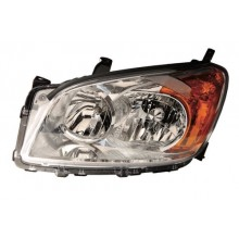 2009 - 2012 Toyota RAV4 Front Headlight Assembly Replacement Housing / Lens / Cover - Left <u><i>Driver</i></u> Side - (Base Model + Limited)