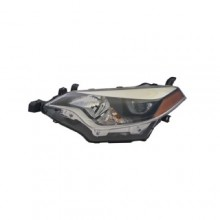 2014 -  2016 Toyota Corolla Front Headlight Assembly Replacement Housing / Lens / Cover - Left <u><i>Driver</i></u> Side