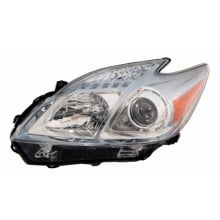 2010 - 2011 Toyota Prius Front Headlight Assembly Replacement Housing / Lens / Cover - Left <u><i>Driver</i></u> Side