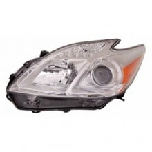 2012 -  2015 Toyota Prius Front Headlight Assembly Replacement Housing / Lens / Cover - Left <u><i>Driver</i></u> Side