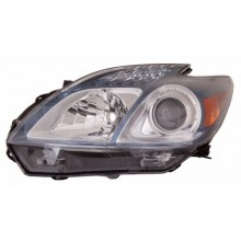2012 -  2015 Toyota Prius Plug-In Front Headlight Assembly Replacement Housing / Lens / Cover - Left <u><i>Driver</i></u> Side