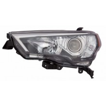 2014 -  2016 Toyota 4Runner Front Headlight Assembly Replacement Housing / Lens / Cover - Left <u><i>Driver</i></u> Side