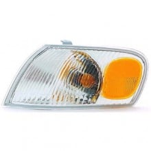 1998 - 2000 Toyota Corolla Parking Light Assembly Replacement / Lens Cover - Left <u><i>Driver</i></u> Side
