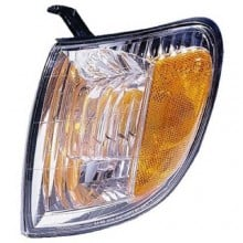 2000 -  2004 Toyota Tundra Turn Signal Light Assembly Replacement / Lens Cover - Front Left <u><i>Driver</i></u> Side - (Standard Cab Pickup + Extended Cab Pickup)