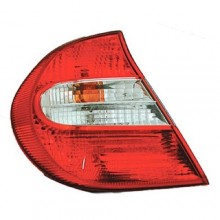 2002 - 2004 Toyota Camry Rear Tail Light Assembly Replacement / Lens / Cover - Left <u><i>Driver</i></u> Side