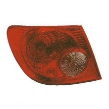 2005 - 2008 Toyota Corolla Rear Tail Light Assembly Replacement / Lens / Cover - Left <u><i>Driver</i></u> Side