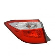 2014 -  2016 Toyota Corolla Rear Tail Light Assembly Replacement / Lens / Cover - Left <u><i>Driver</i></u> Side Outer