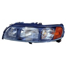 2001 -  2005 Volvo S60 Front Headlight Assembly Replacement Housing / Lens / Cover - Left <u><i>Driver</i></u> Side