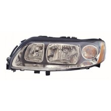 2005 -  2007 Volvo V70 Front Headlight Assembly Replacement Housing / Lens / Cover - Left <u><i>Driver</i></u> Side