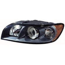 2004 - 2007 Volvo S40 Front Headlight Assembly Replacement Housing / Lens / Cover - Left <u><i>Driver</i></u> Side