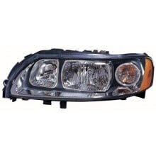 2005 - 2009 Volvo S60 Front Headlight Assembly Replacement Housing / Lens / Cover - Left <u><i>Driver</i></u> Side