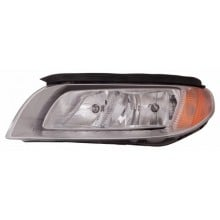 2008 - 2012 Volvo S80 Front Headlight Assembly Replacement Housing / Lens / Cover - Left <u><i>Driver</i></u> Side