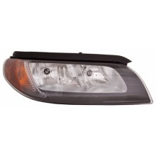 2007 - 2007 Volvo S80 Front Headlight Assembly Replacement Housing / Lens / Cover - Left <u><i>Driver</i></u> Side