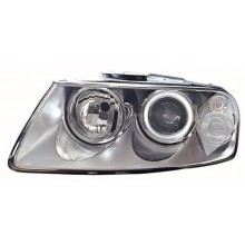 2004 -  2007 Volkswagen Touareg Front Headlight Assembly Replacement Housing / Lens / Cover - Left <u><i>Driver</i></u> Side