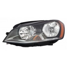 2015 - 2020 Volkswagen GTI Front Headlight Assembly Replacement Housing / Lens / Cover - Left <u><i>Driver</i></u> Side