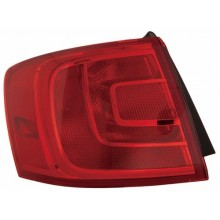 2011 - 2016 Volkswagen Jetta Rear Tail Light Assembly Replacement / Lens / Cover - Left <u><i>Driver</i></u> Side Outer - (Sedan)