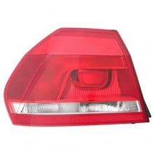 2012 -  2015 Volkswagen Passat Rear Tail Light Assembly Replacement / Lens / Cover - Left <u><i>Driver</i></u> Side Outer