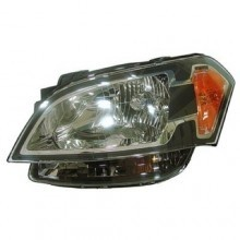 2010 - 2011 Kia Soul Front Headlight Assembly Replacement Housing / Lens / Cover - Left <u><i>Driver</i></u> Side