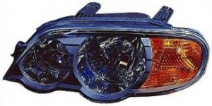2002-2004 Kia Spectra Headlight Assembly (Hatchback / From 5/01 / Early Design) - Left (Driver)