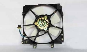 1993-1995 Mazda 626 Radiator Cooling Fan Assembly