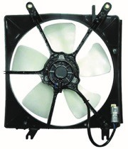 1994 - 1997 Honda Accord Radiator Cooling Fan Assembly (Denso)