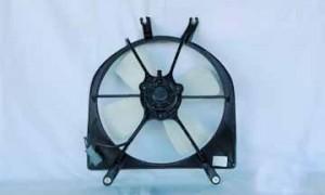 1992-1998 Honda Civic Radiator Cooling Fan Assembly